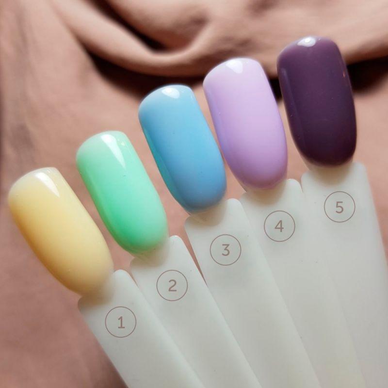 База для гель-лака Siller Cover Color Base №003 (голубой) 15 мл