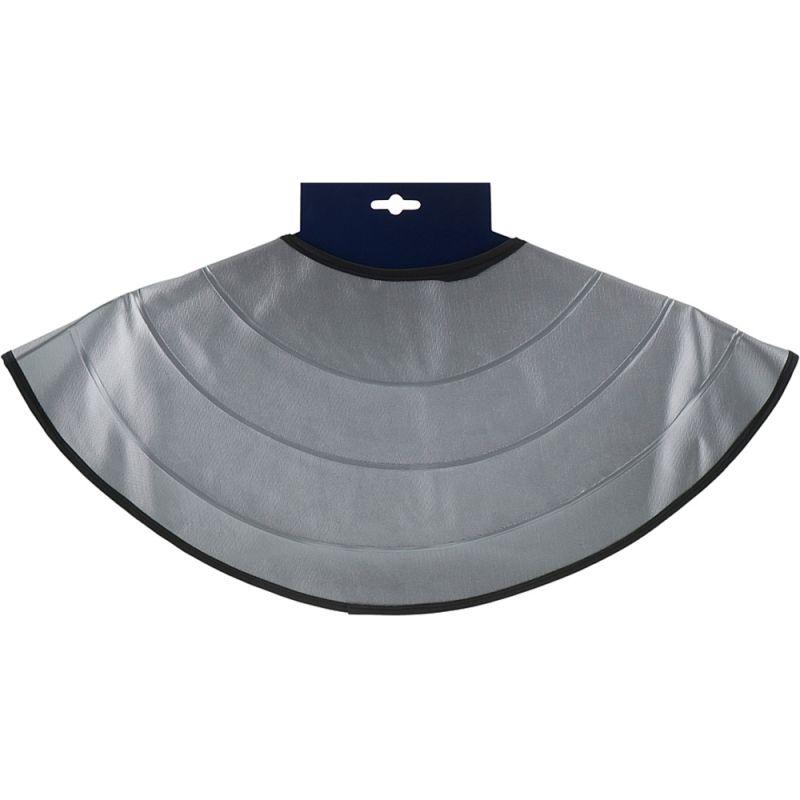 Воротник для стрижки с утяжелителем Eurostil 02519/54 (серебро)