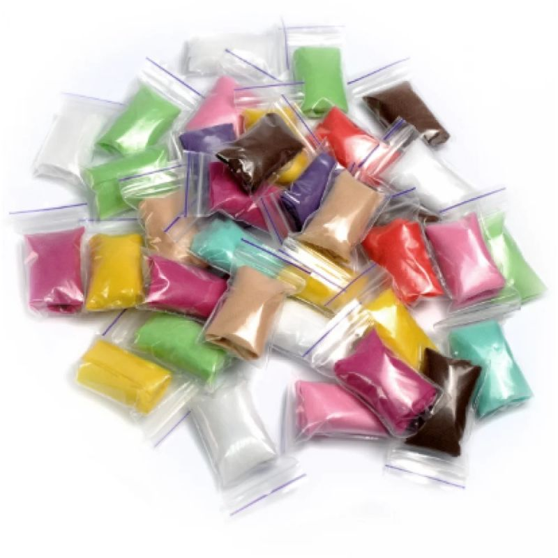 Трусы-стринги с рюшем Doily (спанбонд, разноцветные) 50 штук