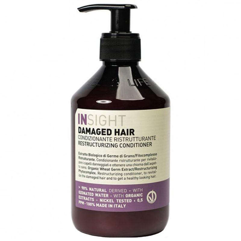Кондиционер восстанавливающий для поврежденных волос Insight Damaged Hair Restructurizing Conditioner 400 мл