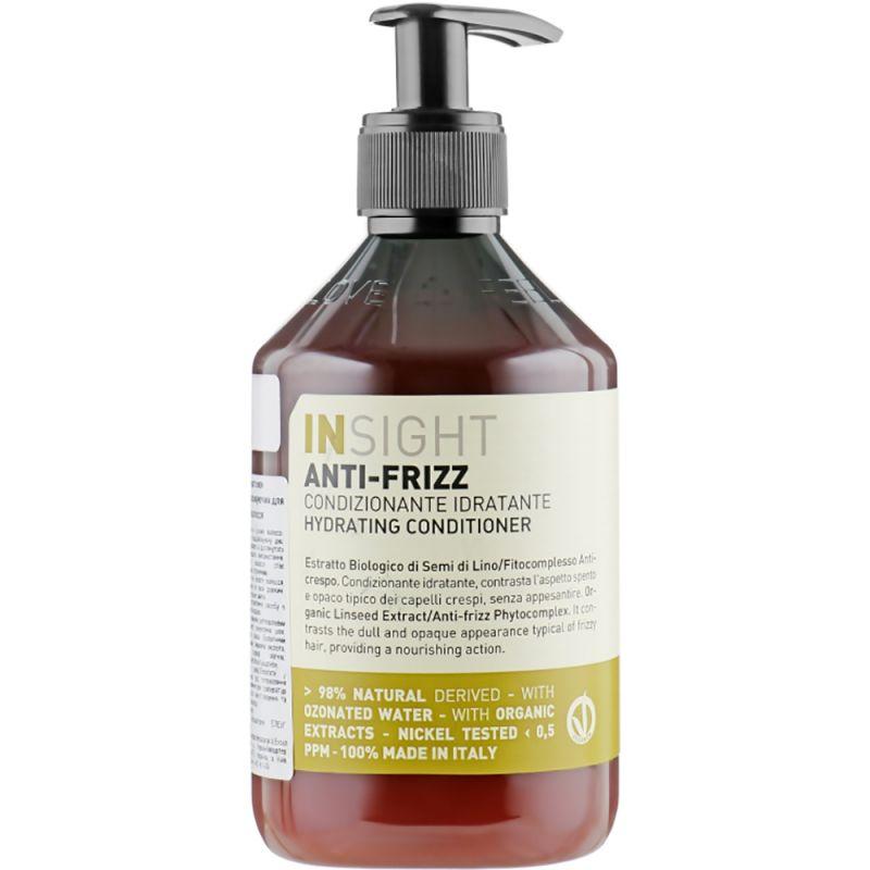 Кондиционер увлажняющий для всех типов волос Insight Anti-Frizz Hair Hydrating Conditioner 400 мл