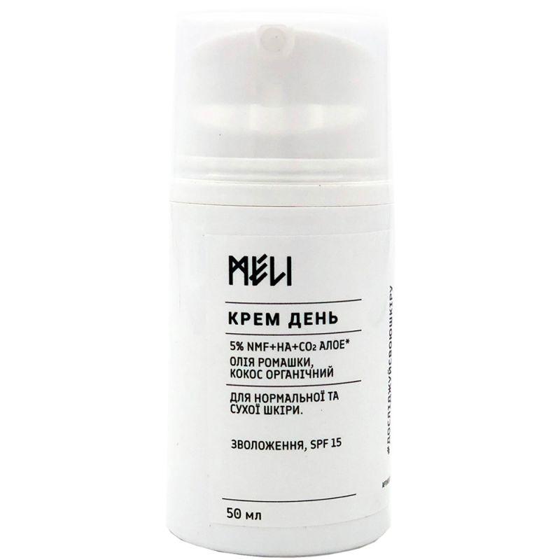 Крем для нормальной и сухой кожи Meli Day Аллоэ 50 мл