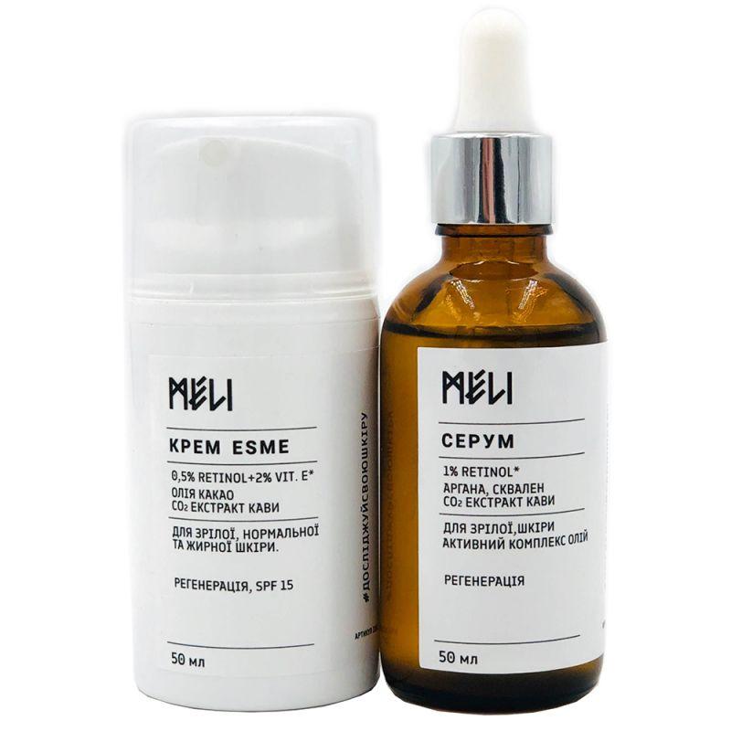 Комплекс для зрелой кожи Meli Esme 2х50 мл