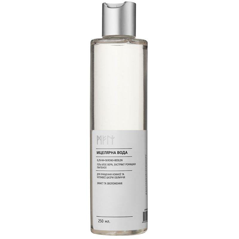 Мицеллярная вода для чувствительной кожи Meli (с биолином и растительными экстрактами) 250 мл
