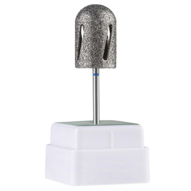 Насадка алмазная для педикюра Twister 12016 (диаметр 15 мм, синяя)