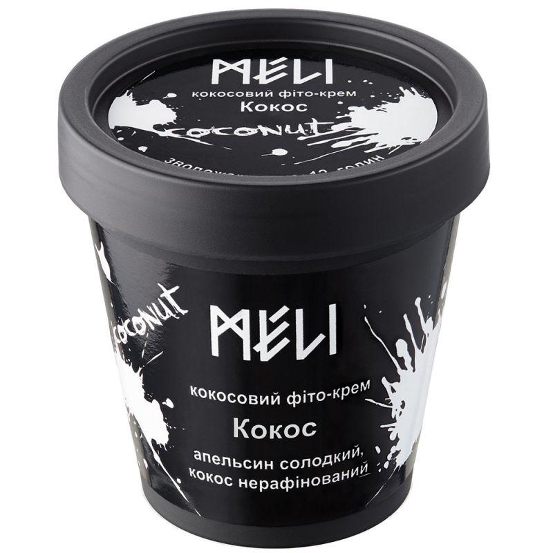 Фито-крем для тела увлажняющий Meli Кокос с пантенолом 200 мл
