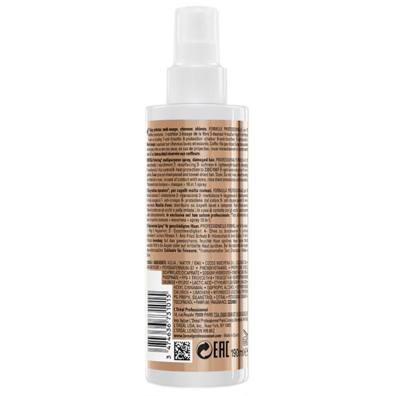 Спрей для восстановления поврежденных волос L'Oreal Professionnel Absolut Repair 10 в 1 Perfecting Multipurpose Spray 190 мл