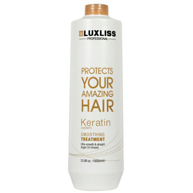 Кератин для выпрямления волос Luxliss Keratin Smoothing Treatment 1000 мл