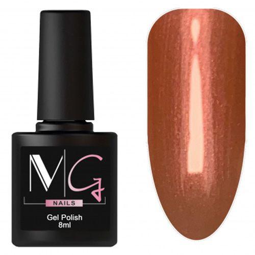 Гель-лак MG №162 (коричнево-оранжевый с микроблеском) 8 мл