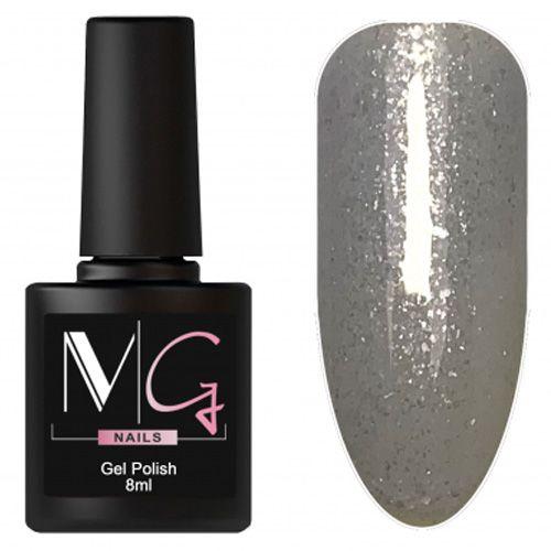 Гель-лак MG №164 (серый с блестками) 8 мл