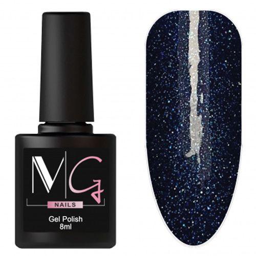 Гель-лак MG №170 (насыщенный синий с микроблеском) 8 мл