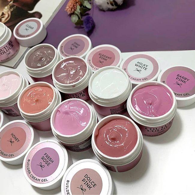 Строительный крем-гель Couture Colour Builder Cream Elegant Pink (мягкий розовый) 50 мл