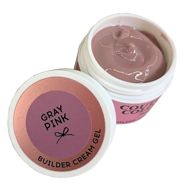 Строительный крем-гель Couture Colour Builder Cream Gel Grey Pink (розовая дымка) 50 мл