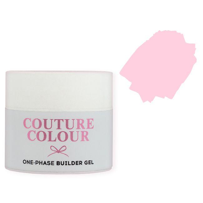 Строительный гель Couture Colour 1-Phase Builder Gel Natural Pink (натуральный розовый) 50 мл