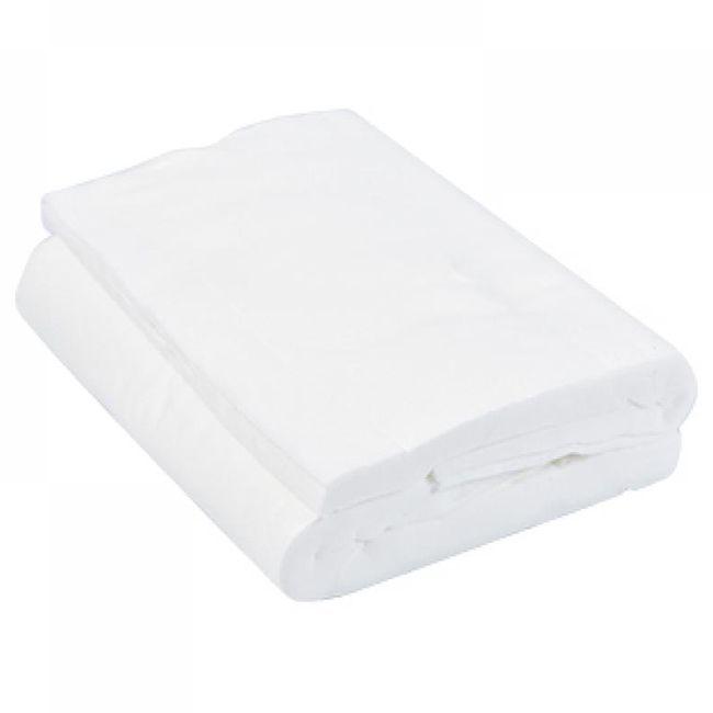 Полотенца одноразовые в коробке Panni Mlada 40х70см 40г/м2 (гладкие, белый) 50 штук
