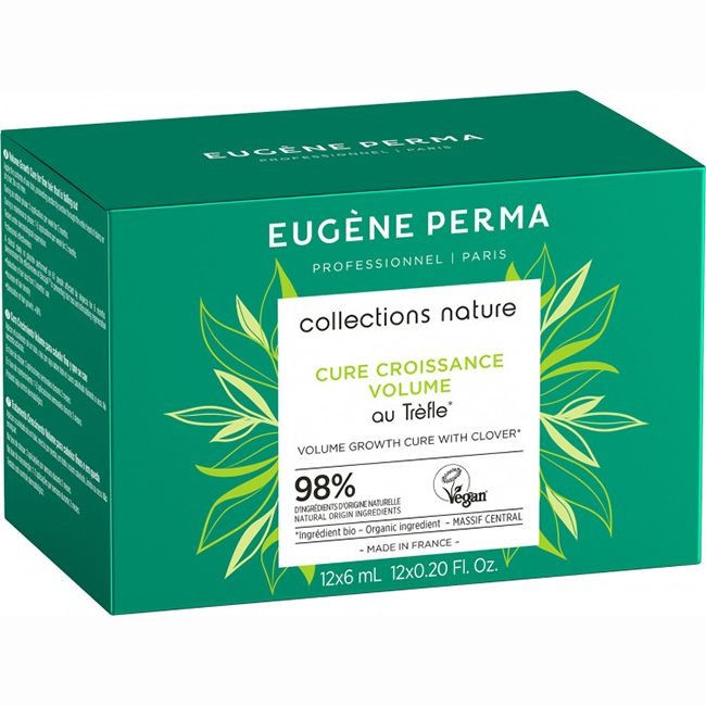 Ампулы против выпадения волос Eugene Perma Collections Nature Cure Croissance Volume 12х6 мл