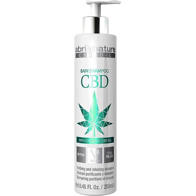 Шампунь-детокс Abril et Nature CBD Cannabis Oil Shampoo (с конопляным маслом) 250 мл