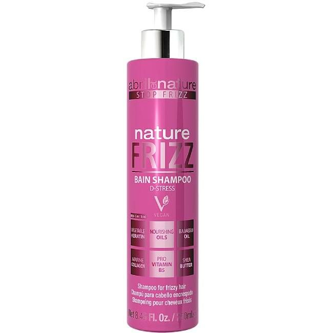 Шампунь для непослушных волос Abril et Nature Bain Shampoo Nature Frizz 250 мл