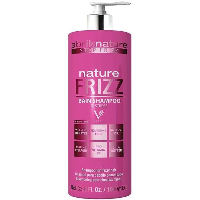 Шампунь для непослушных волос Abril et Nature Bain Shampoo Nature Frizz 1000 мл