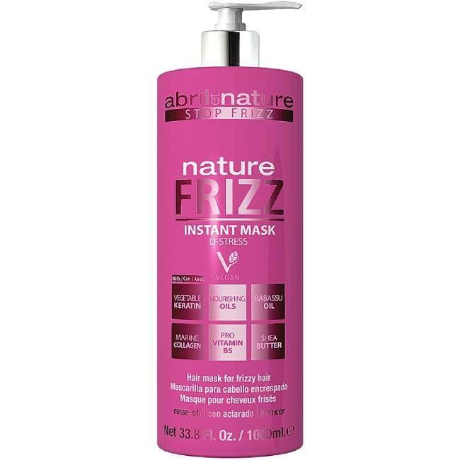 Маска для непослушных волос Abril et Nature Nature Frizz Instant Mask 1000 мл