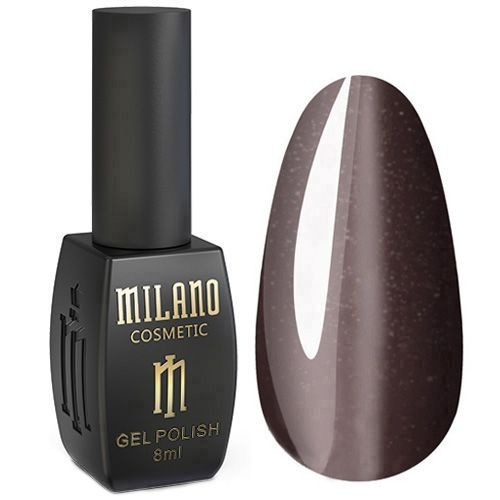 Гель-лак Milano 24D №015 (шоколадный, кошачий глаз) 8 мл