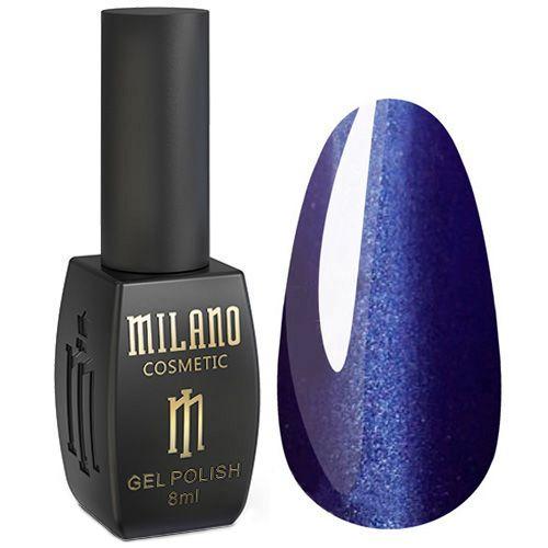 Гель-лак Milano 24D №016 (сине-фиолетовый, кошачий глаз) 8 мл