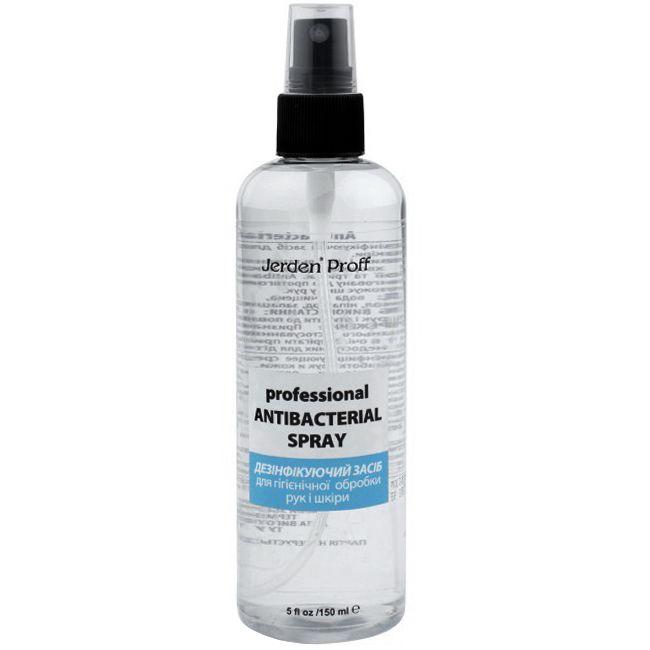 Средство для дезинфекции рук и кожи Jerden Proff Antibacterial Spray 150 мл