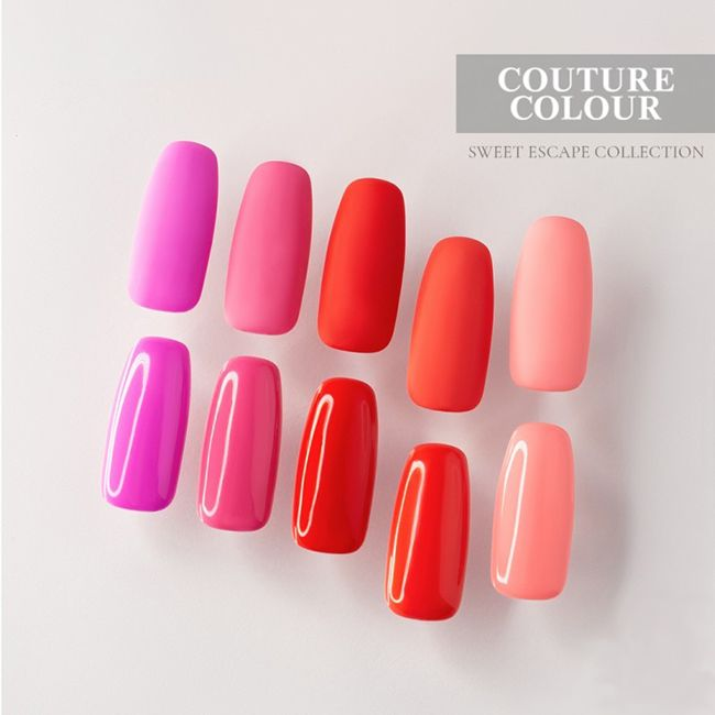 Гель-лак Couture Colour Sweet Escape №146 (розовый неон, эмаль) 9 мл