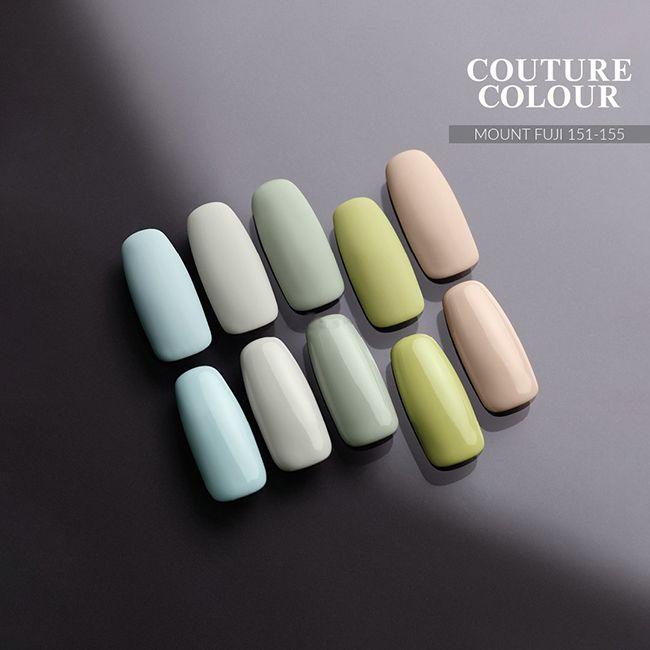 Гель-лак Couture Colour Mount Fuji №151 (мятно-голубой, эмаль) 9 мл