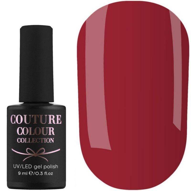 Гель-лак Couture Colour №157 (классический красный, эмаль) 9 мл