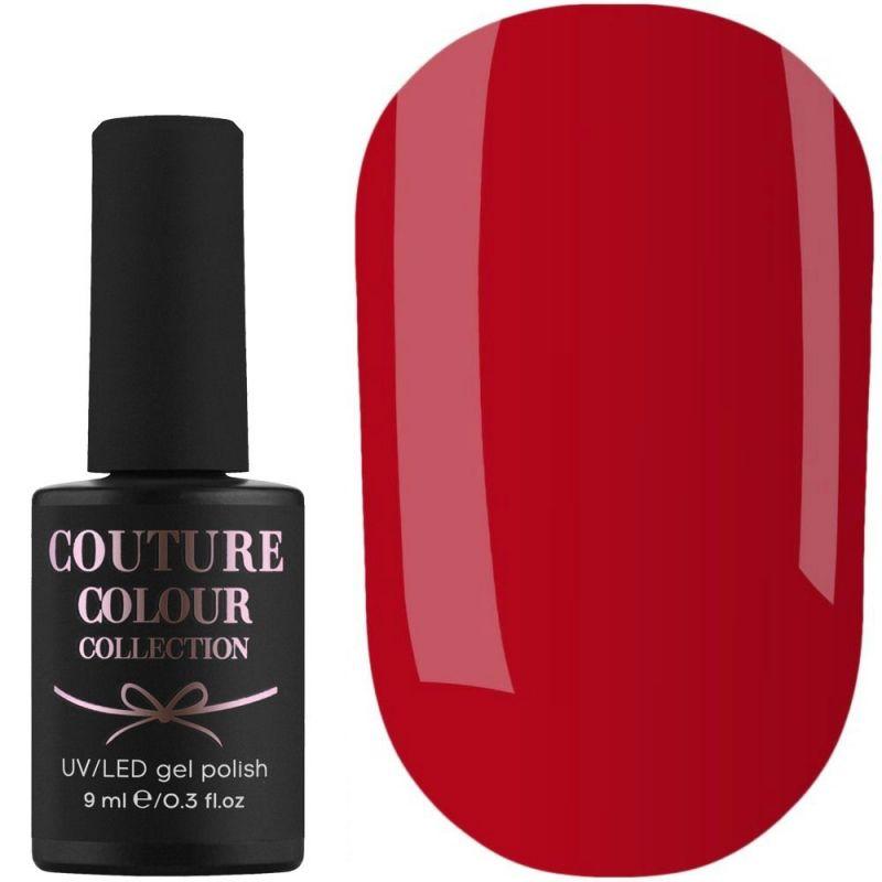Гель-лак Couture Colour №160 (красный, эмаль) 9 мл