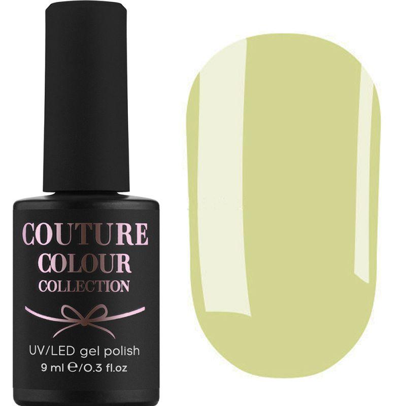Гель-лак Couture Colour №167 (бледно-салатовый, эмаль) 9 мл