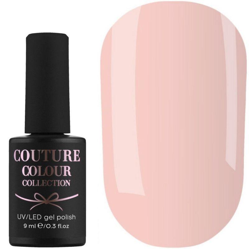 Гель-лак Couture Colour №163 (бледный бежево-персиковый, эмаль) 9 мл