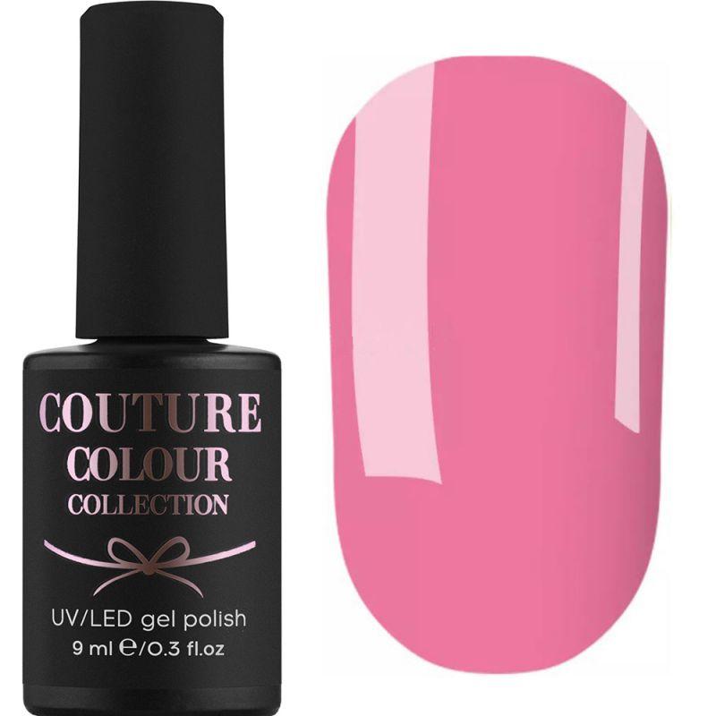 Гель-лак Couture Colour №168 (яркий лилово-розовый, эмаль) 9 мл