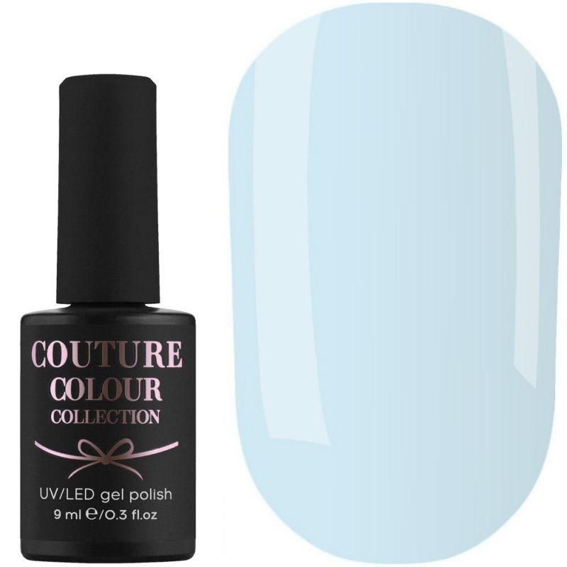 Гель-лак Couture Colour №165 (бело-голубой, эмаль) 9 мл