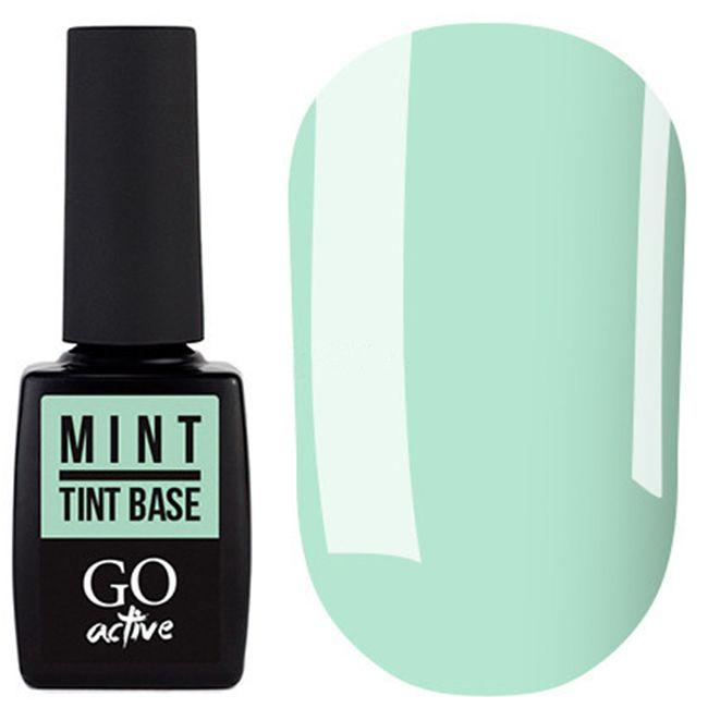 База для гель-лака Go Active Tint Base Mint №03 (мятный) 10 мл