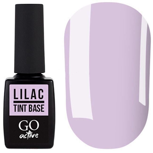 База для гель-лака Go Active Tint Base Lilac №04 (лиловый) 10 мл