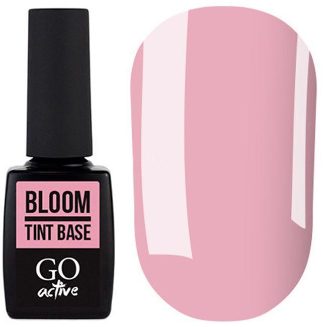База для гель-лака Go Active Tint Base Bloom №05 (розовый) 10 мл