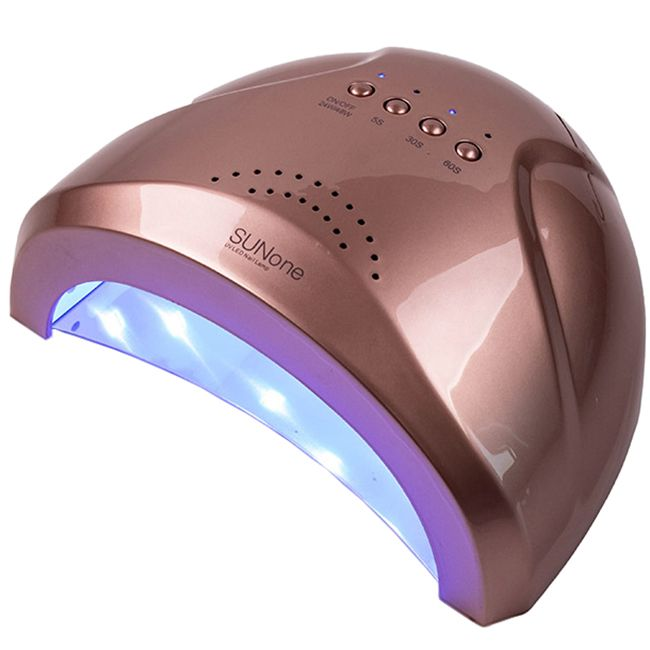 Лампа для маникюра SUNone UV-LED Bronze 48 Вт