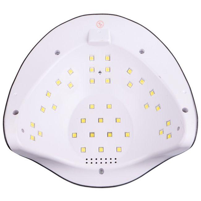 Лампа для маникюра Sun X UV-LED Black 54 Вт