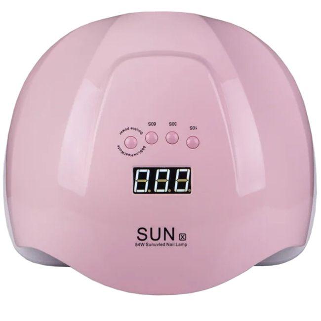 Лампа для маникюра Sun X UV-LED Pastel Pink 54 Вт
