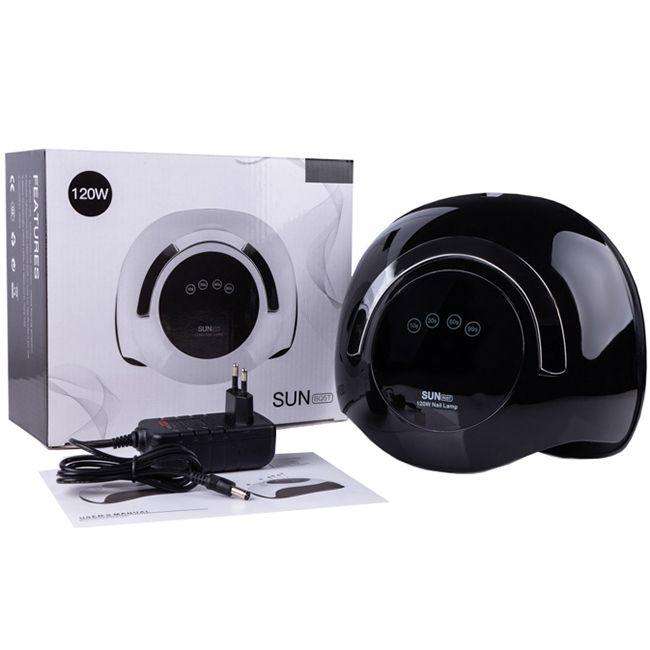 Лампа для маникюра SUN BQ-5T LED-UV Black 120 Вт