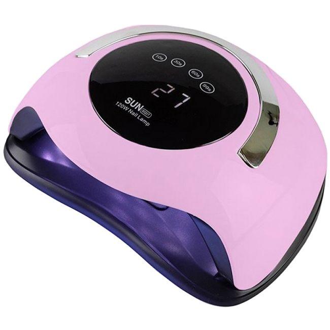 Лампа для маникюра SUN BQ-5T LED-UV Pink 120 Вт