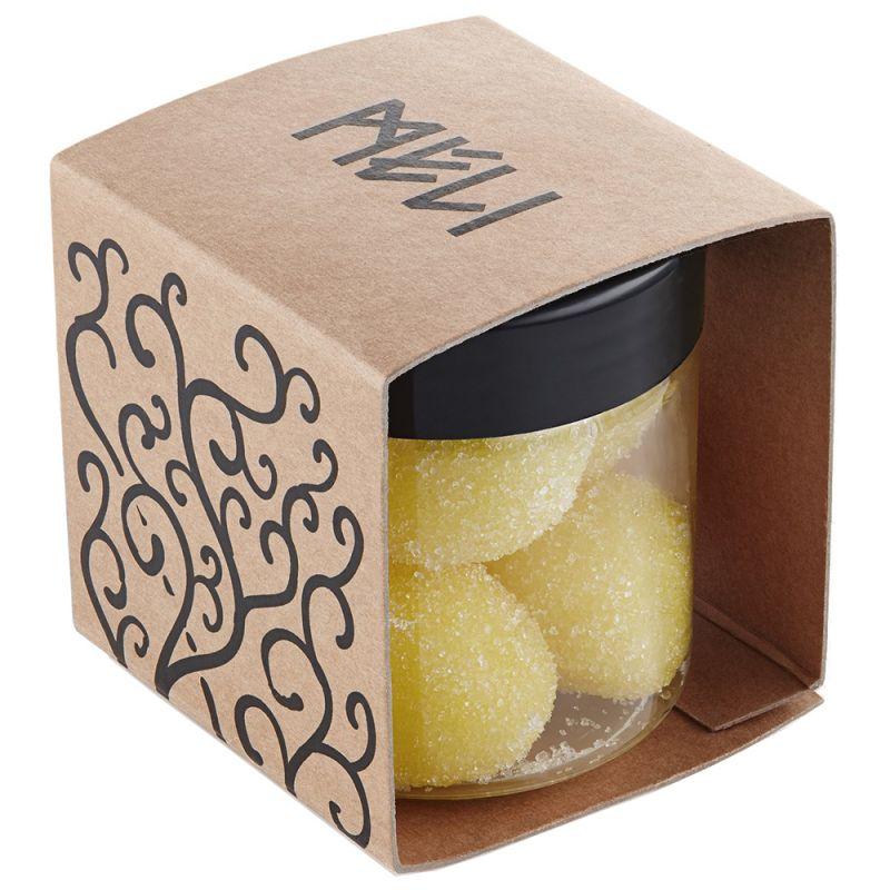 Мягкие сахарные скраб-шарики Meli Банан 120 г