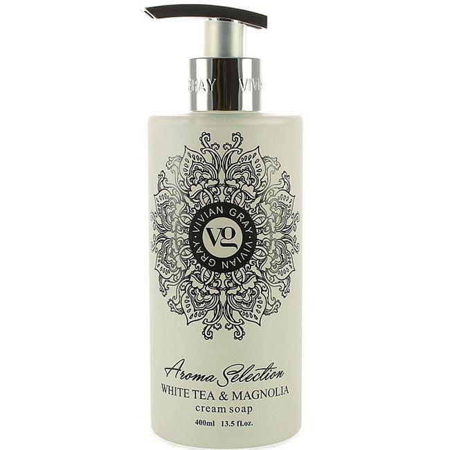 Крем-мыло Vivian Gray Vivanel White Tea & Magnolia Cream Soap 400 мл
