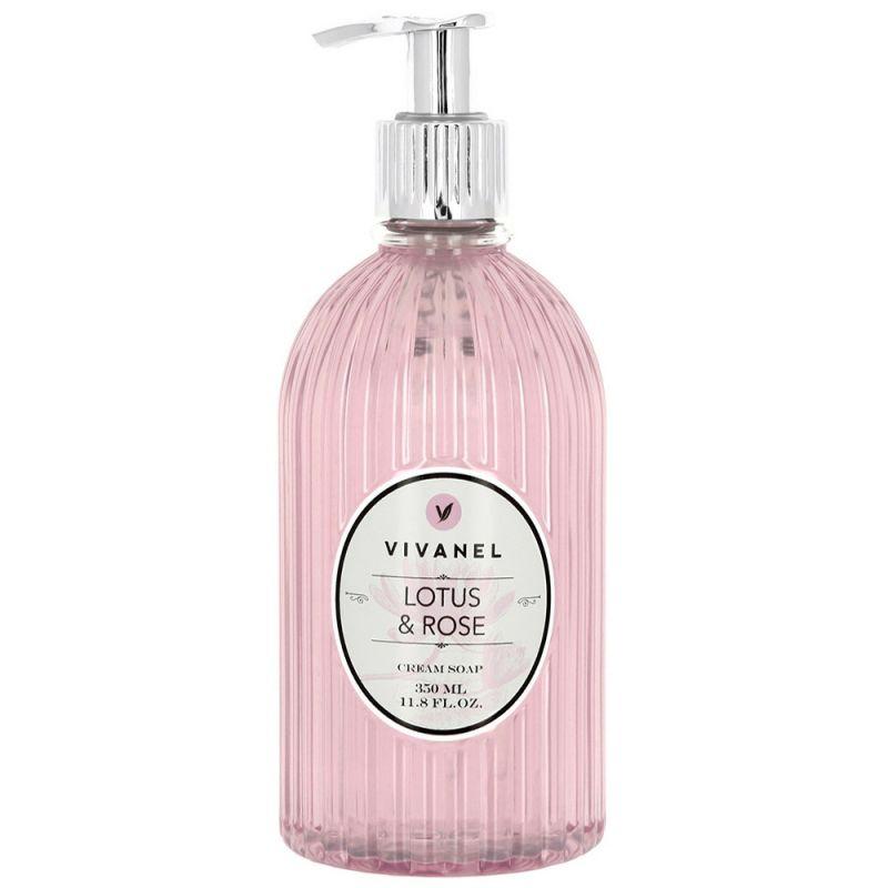 Крем-мыло Vivian Gray Vivanel Lotus & Rose Cream Soap 350 мл