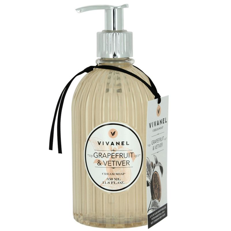 Крем-мыло Vivian Gray Vivanel Grapefruit & Vetiver Cream Soap 350 мл