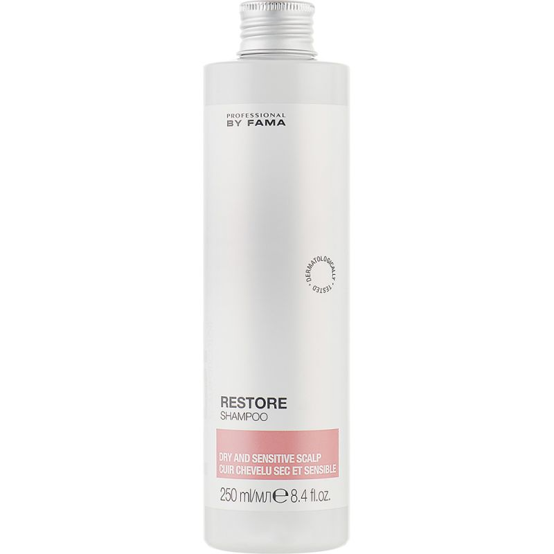 Шампунь для сухой и чувствительной кожи головы Professional By Fama Restore Shampoo 250 мл