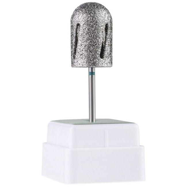 Насадка алмазная для педикюра Twister 488016 (диаметр 16 мм, зеленая)