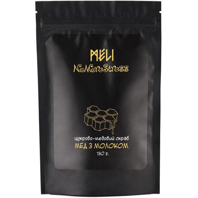 Сахарно-медовый скраб Meli Мед с молоком 180 г